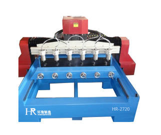 China stone cutting machine /stone carving machine /High Efficiency Cylinder Engraving Machine Easy Operate For Wood Carving supplier